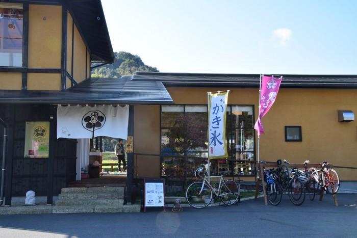 20171104 サイクリング 店前風景